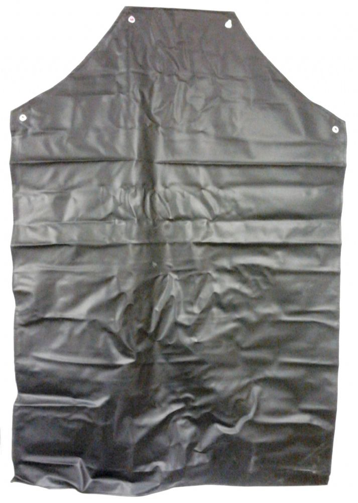 Heavy Duty Black Plastic Apron
